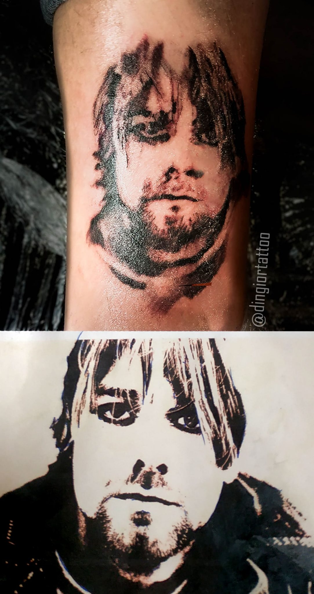 Realism or Realistic Tattoos Portrait