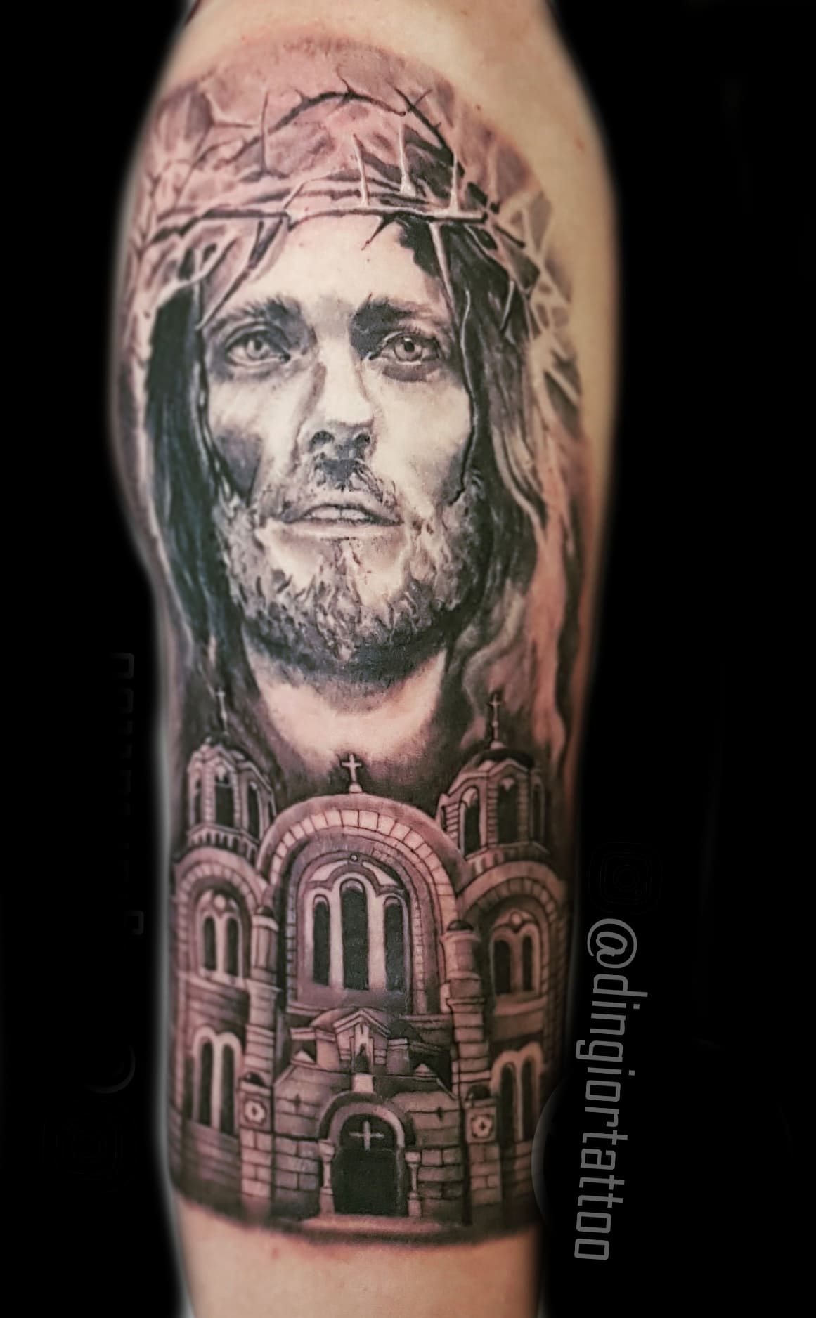 Realism or Realistic Tattoos Religious