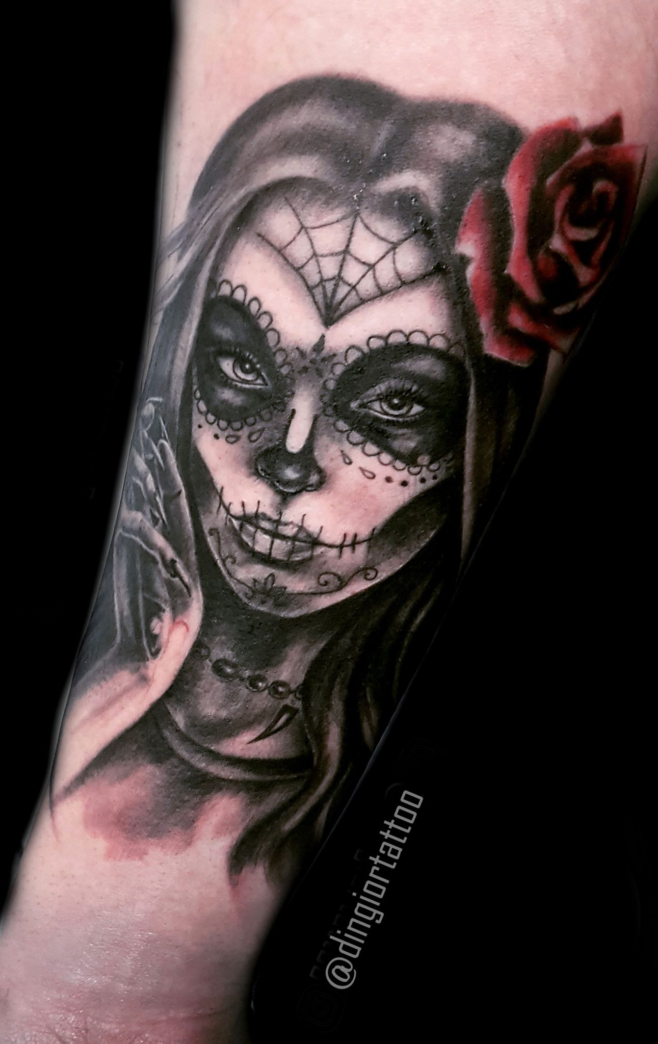 Realism or Realistic Tattoos Girl