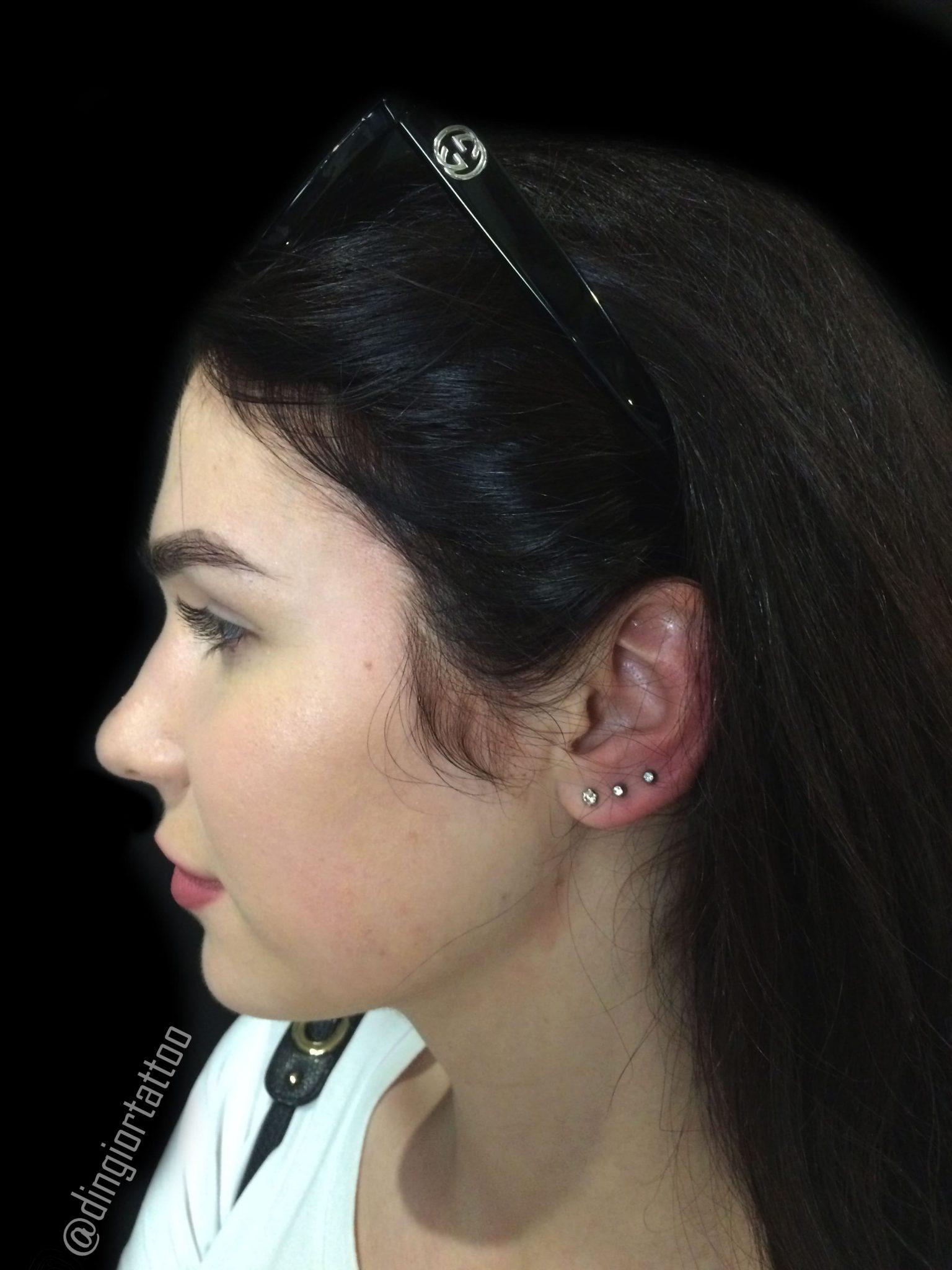 piercing multi-helix