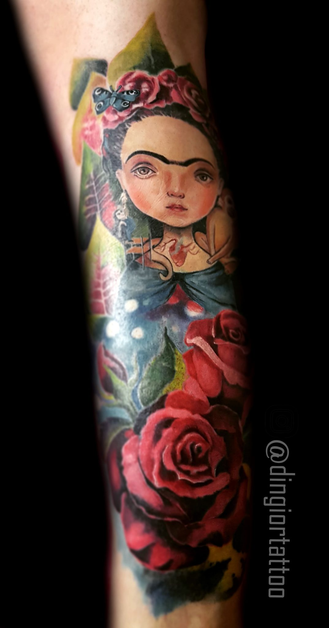 Realism or Realistic Color Tattoo