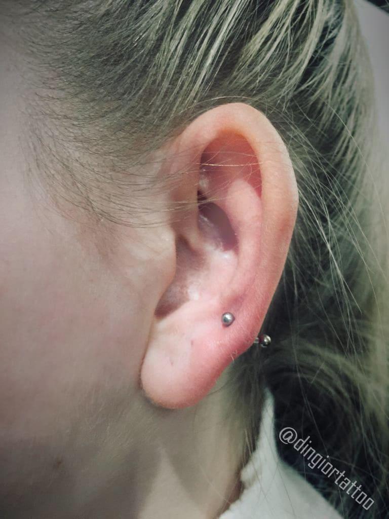 piercing lobe