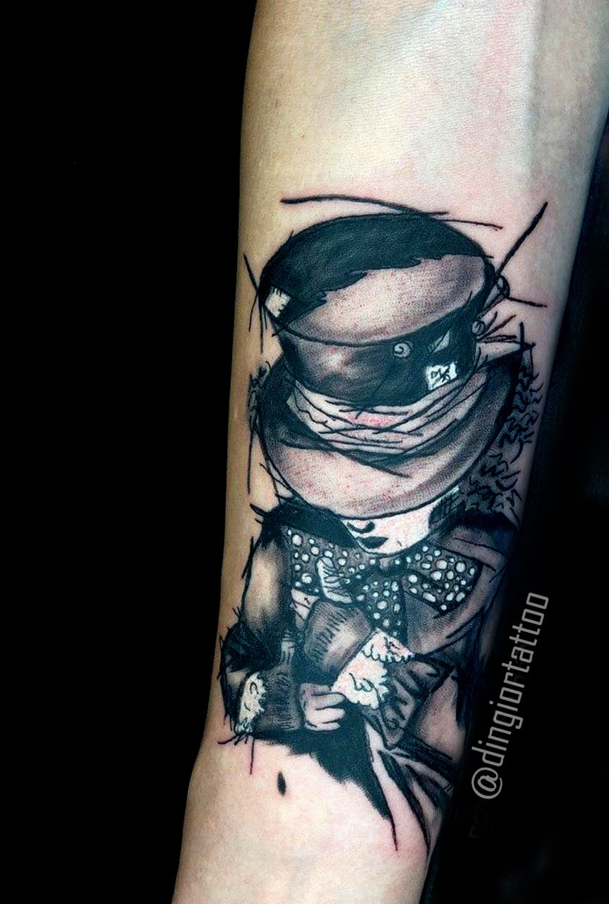 Alice In Wonderland Tattoo (Graphics)