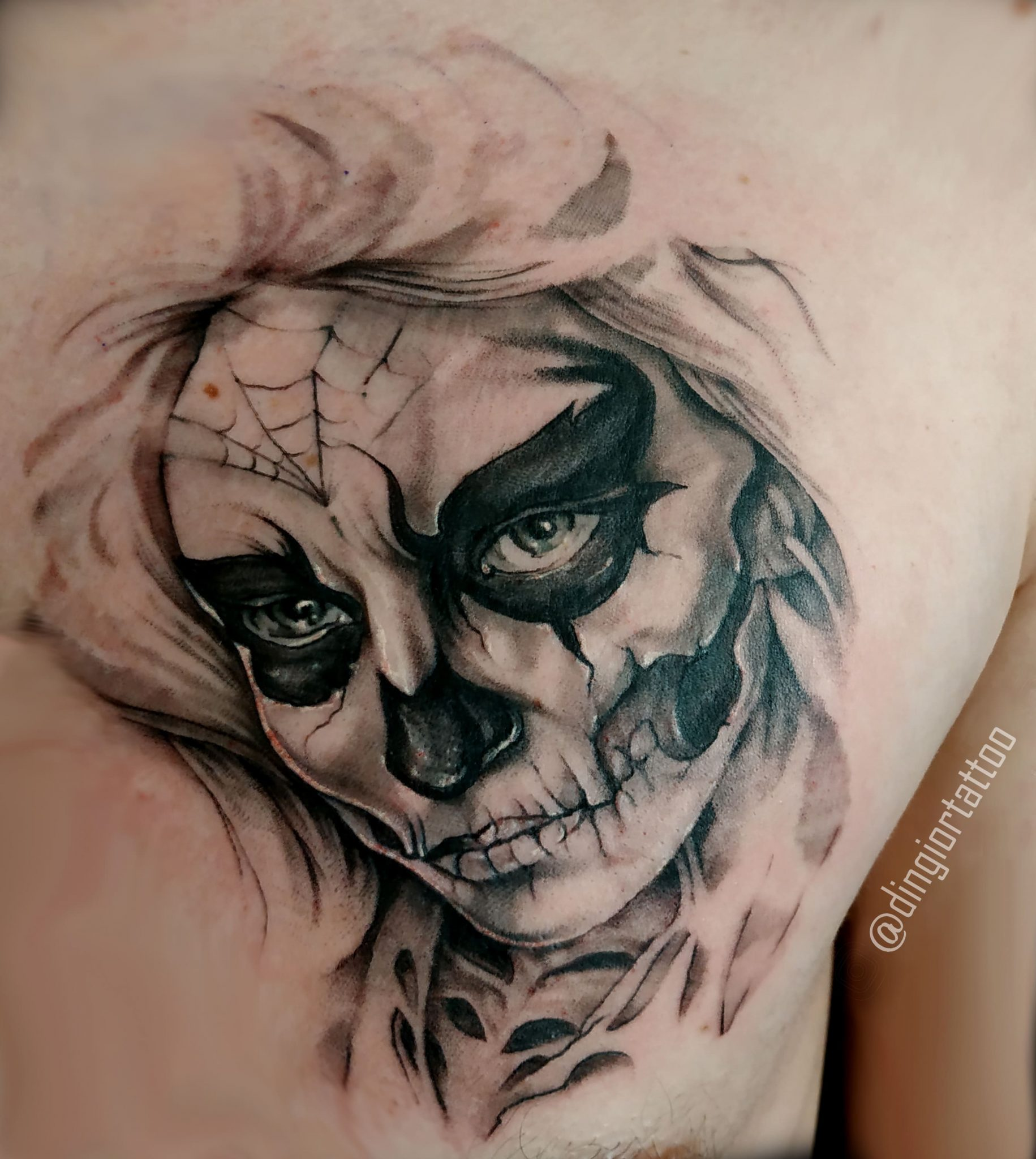Realism or Realistic Tattoos Chicano