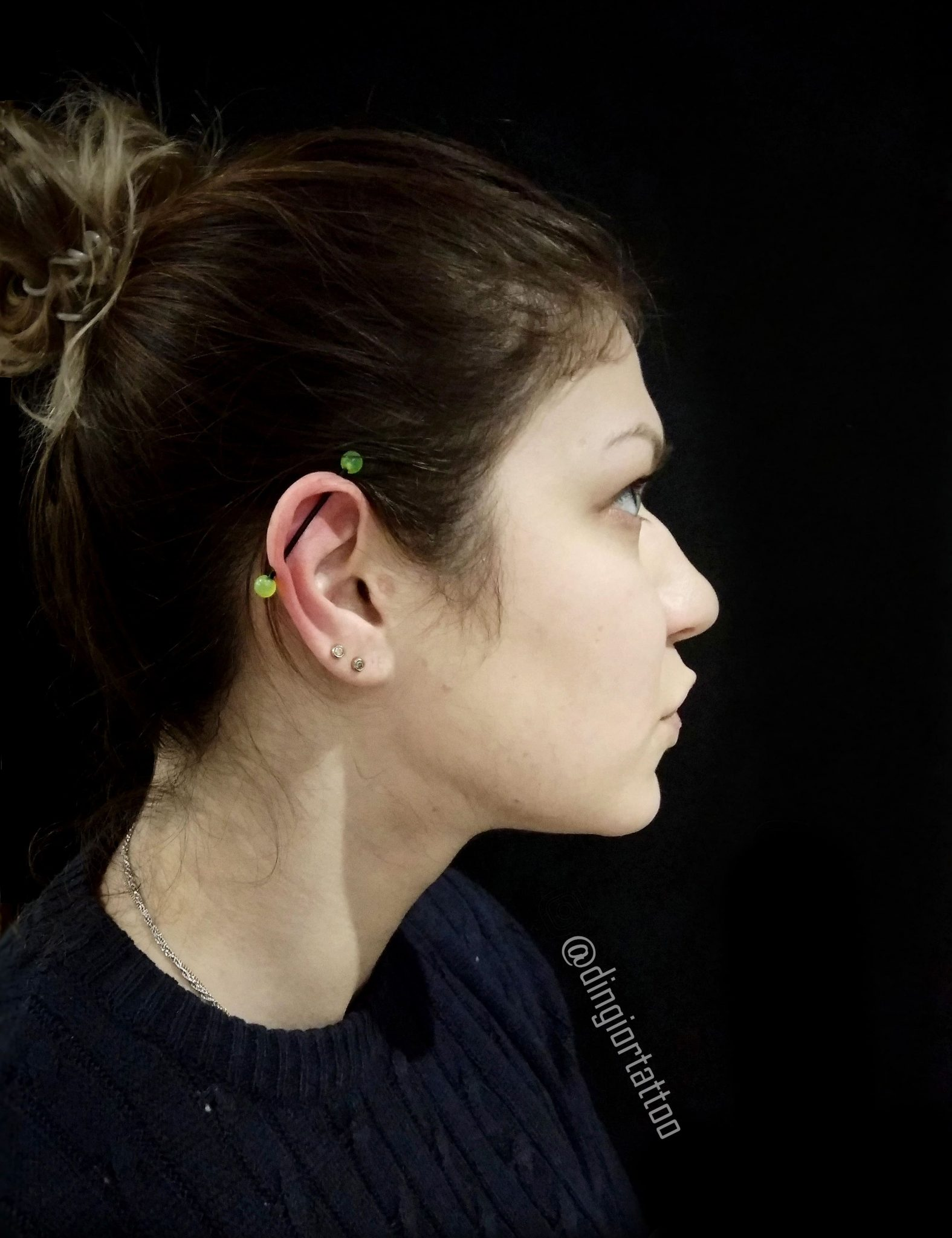 piercing industrial and lobe